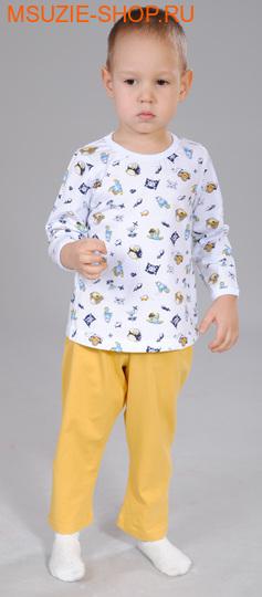 Милашка Сьюзи пижама. 92 белый (попугай) ростОдежда для дома<br><br>