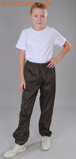 Милашка Сьюзи ветрозащитные брюки. 140 коричневый ростВесна-лето<br><br>