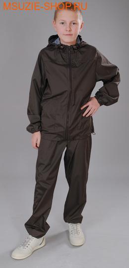 Милашка Сьюзи ветрозащитная куртка. 140 коричневый ростВесна-лето<br><br>