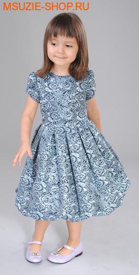 Милашка Сьюзи платье. 104 синий ростНарядные платья <br><br>