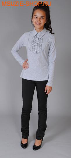 Милашка Сьюзи блузка. 122 серый ростБлузки<br><br>