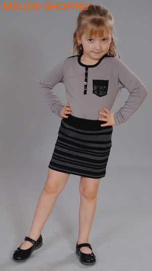Милашка Сьюзи юбка. 104 черный ростБрюки, юбки  <br><br>