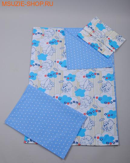 Милашка Сьюзи постельное белье 1,5 сп. КПБ 1,5 спал белый (самолет) ростПостельное белье<br><br>