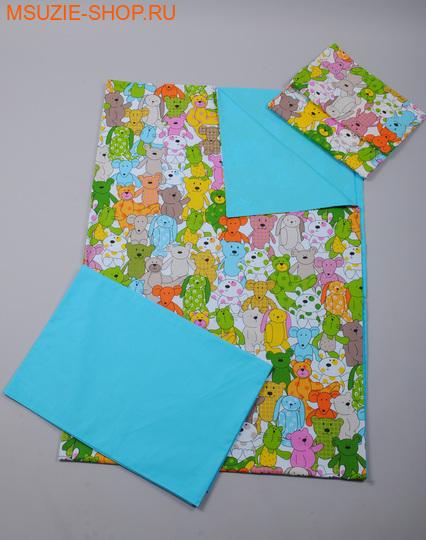 Милашка Сьюзи постельное белье 1,5 сп. КПБ 1,5 спал ярк.голубой (игрушки) ростПостельное белье<br><br>