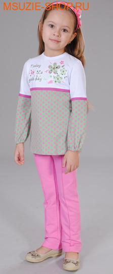 Милашка Сьюзи блузка. 104  хаки(горох) ростДжемпера, рубашки, кофты<br><br>