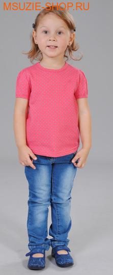 Милашка Сьюзи футболка. 104 коралл (горох) ростДжемпера, рубашки, кофты<br><br>