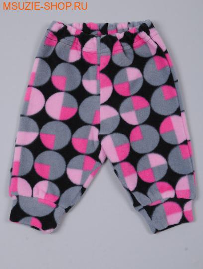 Милашка Сьюзи брючки. 62 розовый (рисунок) росттеплые ползунки,брючки<br><br>
