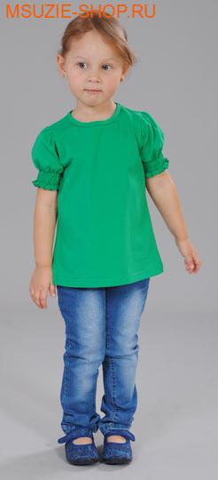 Милашка Сьюзи блузка. 104 зеленый ростДжемпера, рубашки, кофты<br><br>