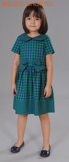 Милашка Сьюзи платье. 104 зеленый ростПлатья <br><br>