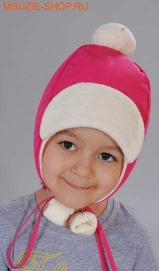 Милашка Сьюзи шапка. 104 ог 50 фуксия+молоч ростГоловные уборы,варежки,перчатки <br><br>