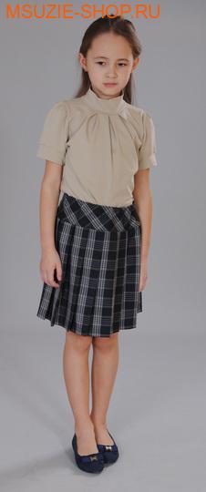 Милашка Сьюзи блузка. 128 бежевый ростБлузки<br><br>