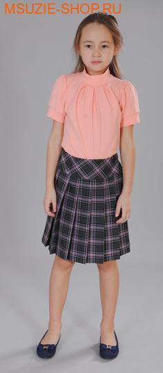 Милашка Сьюзи блузка. 128 персик ростБлузки<br><br>