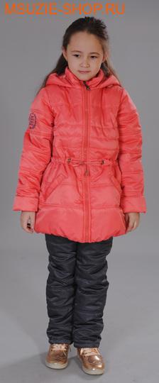 Милашка Сьюзи куртка+брюки (осень). 128 коралл+баклажан ростВесна-осень<br><br>