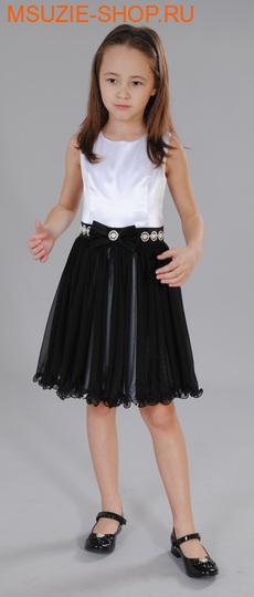 Флер де Ви платье. 122 черно-белый ростНарядные платья <br><br>