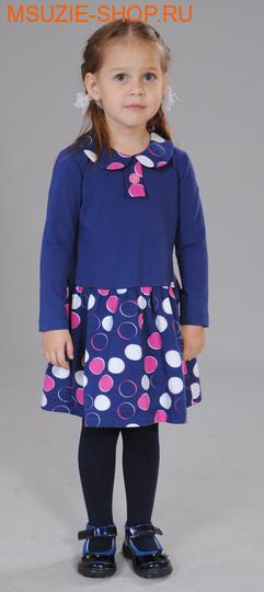 Милашка Сьюзи платье. 104 синий ростПлатья <br><br>