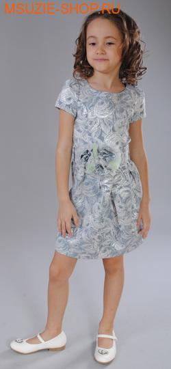 Флер де Ви платье. 104 серебро ростНарядные платья <br><br>