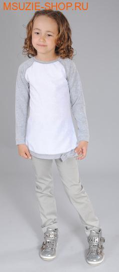 Флер де Ви блузка. 116  серый ростДжемпера, рубашки, кофты<br><br>