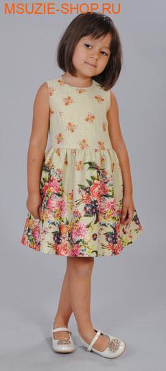 Флер де Ви платье. 104 золото ростНарядные платья <br><br>