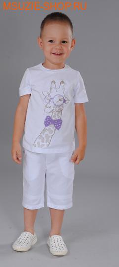 Флер де Ви джемпер. 104 белый ростДжемпера, рубашки, кофты<br><br>