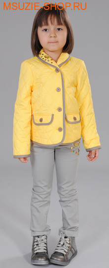 Флер де Ви куртка. 104 желтый ростВесна-осень<br><br>