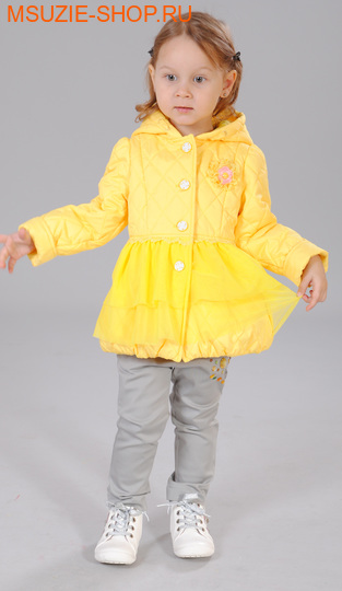 Флер де Ви куртка (весна). 86 желтый ростВесна-осень<br><br>