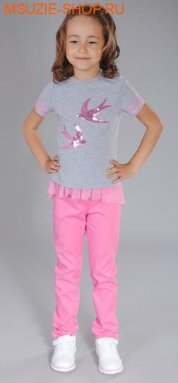 Флер де Ви брюки. 92 розовый ростБрюки, юбки  <br><br>