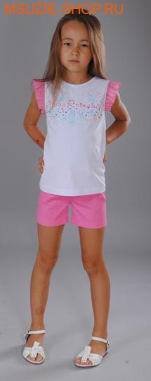 Флер де Ви шорты. 104 розовый ростБрюки, юбки  <br><br>