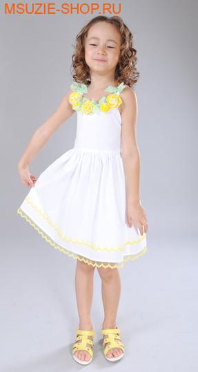 Флер де Ви платье. 104 желтый ростПлатья <br><br>