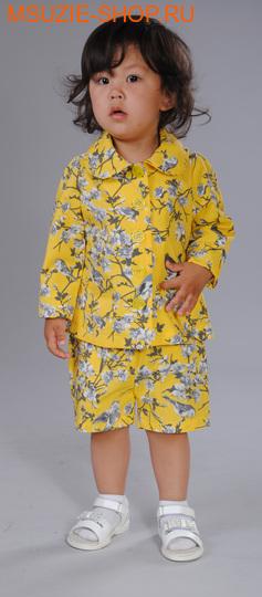 Флер де Ви жакет. 80 желтый (рисунок) ростВесна-лето<br><br>