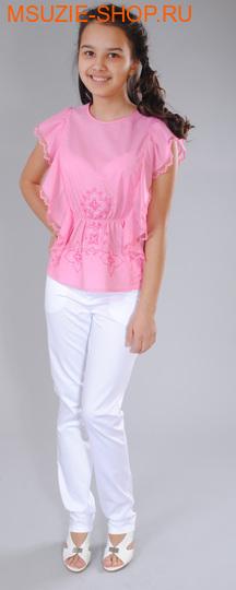 Флер де Ви блузка. 140 розовый ростДжемпера, рубашки, кофты<br><br>