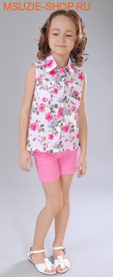 Флер де Ви блузка. 104 фуксия ростДжемпера, рубашки, кофты<br><br>