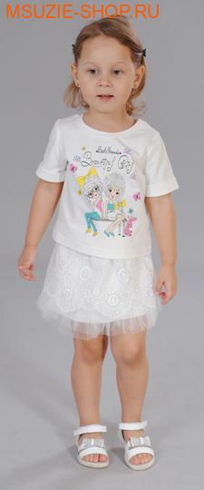 Флер де Ви блузка. 104 св.молочный ростДжемпера, рубашки, кофты<br><br>