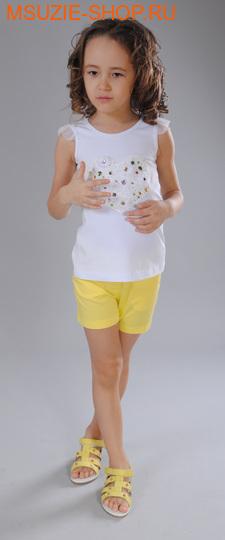 Флер де Ви блузка. 104 белый ростДжемпера, рубашки, кофты<br><br>