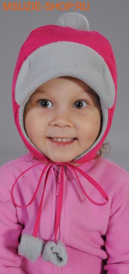 Милашка Сьюзи шапка. 104 ог 50 фуксия+св.сер ростГоловные уборы,варежки,перчатки <br><br>