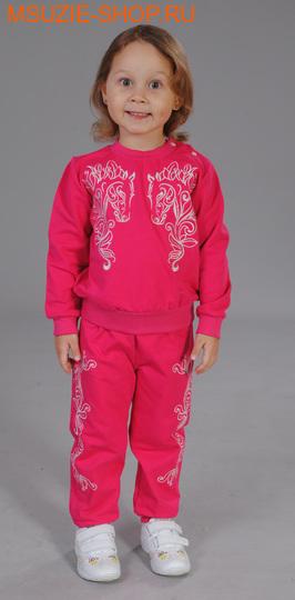 Милашка Сьюзи джемпер+брюки. 74 фуксия ростКомплекты<br><br>