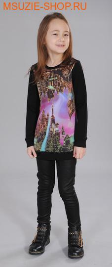 Милашка Сьюзи блузка. 116 черный ростДжемпера, рубашки, кофты<br><br>