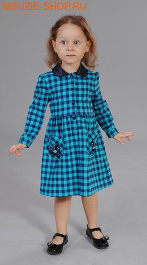Милашка Сьюзи платье. 92 бирюза ростПлатья <br><br>