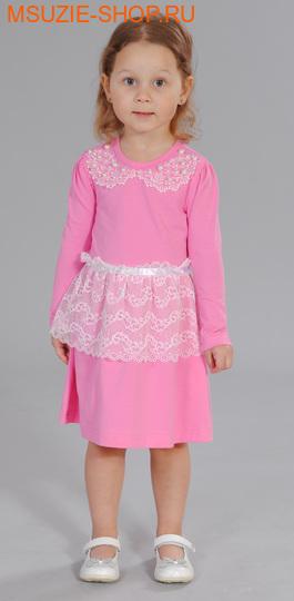 Милашка Сьюзи платье. 104 розовый ростНарядные платья <br><br>