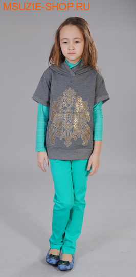 Милашка Сьюзи блузка. 128 золото ростДжемпера, рубашки, кофты<br><br>