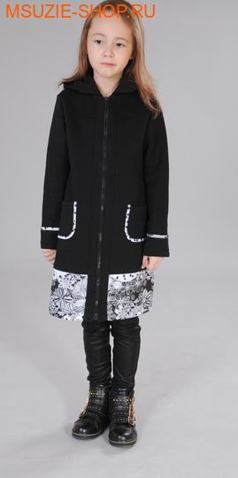 Милашка Сьюзи пальто. 110 черный ростВесна-лето<br><br>