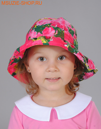 Милашка Сьюзи панама. 104-128 ог 50-52 розовый ростГоловные уборы,варежки,перчатки <br><br>