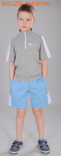 Милашка Сьюзи футболка+шорты. 122 св.сер+синеголуб ростСпортивная форма. <br><br>
