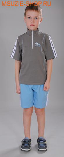Милашка Сьюзи футболка+шорты. 122 сер+синеголуб ростСпортивная форма. <br><br>