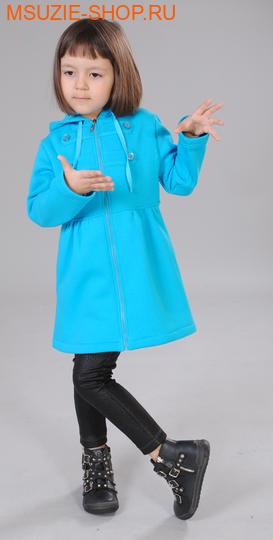 Милашка Сьюзи пальто. 104 бирюза ростВесна-лето<br><br>