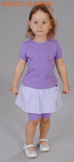 Милашка Сьюзи блузка+юбка-штропсы. 98 сирень ростКомплекты<br><br>