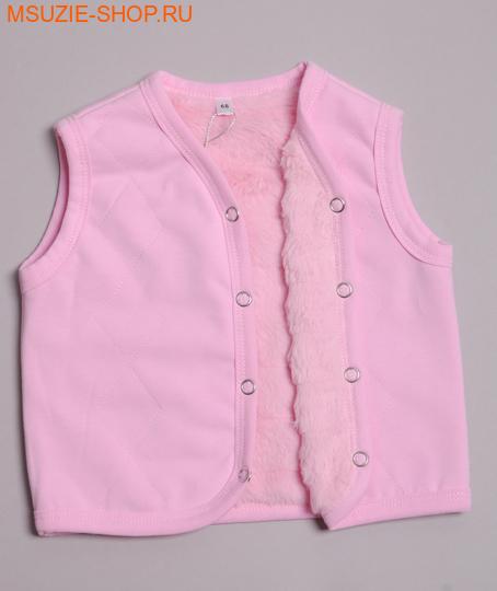 Милашка Сьюзи жилет. 68 розовый (однотон) росттеплые кофточки,распашонки,боди<br><br>