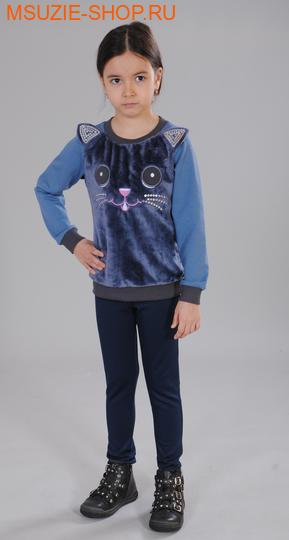 Милашка Сьюзи блузка. 104 св.индиго ростДжемпера, рубашки, кофты<br><br>