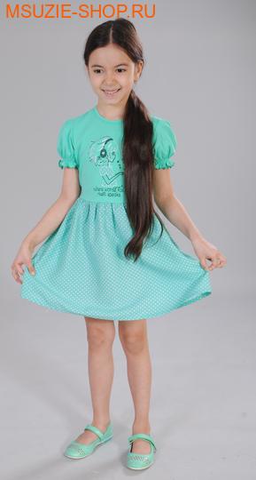 Милашка Сьюзи платье. 86 зеленый ростПлатья <br><br>
