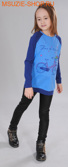 Милашка Сьюзи туника. 128 голубой ростДжемпера, рубашки, кофты<br><br>