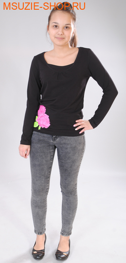 Милашка Сьюзи блузка. 46/164 черный ростЖенская одежда (Распродажа)<br><br>
